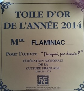 Toile d'or 2014