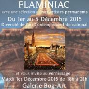 La Galerie Artitude expose à Bruxelles FlaminiaC