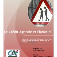 Affiche crédit agricole.