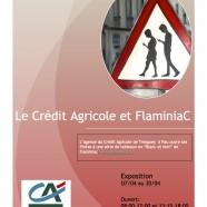 L'art de Proximité: Le Crédit agricole invite FlaminiaC 🗓 🗺
