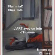 Affiche FlaminiaC chez Total