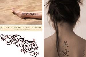 Petits tatouages