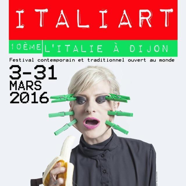 10 ème édition, Festival d'art italien à Dijon.
