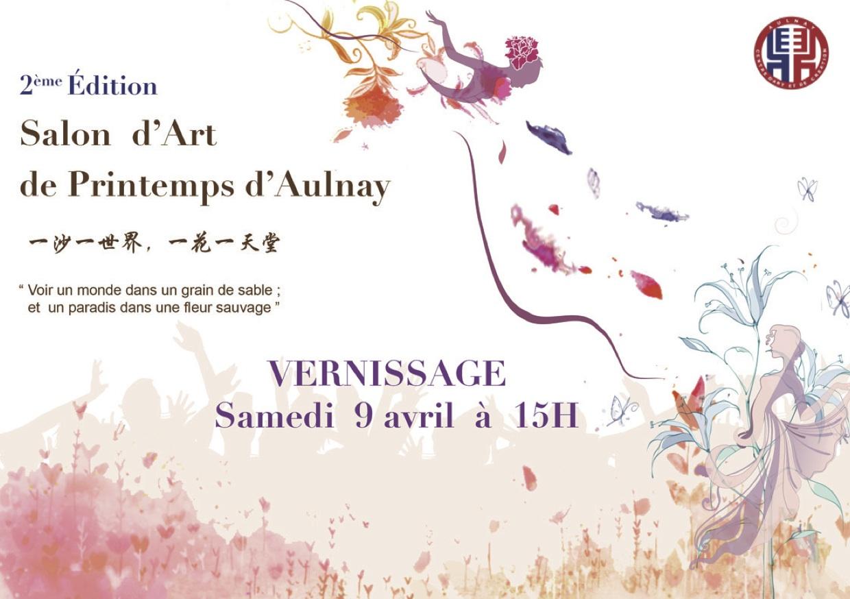 2 ème édition Salon d'Art de Printemps d'Aulnay.