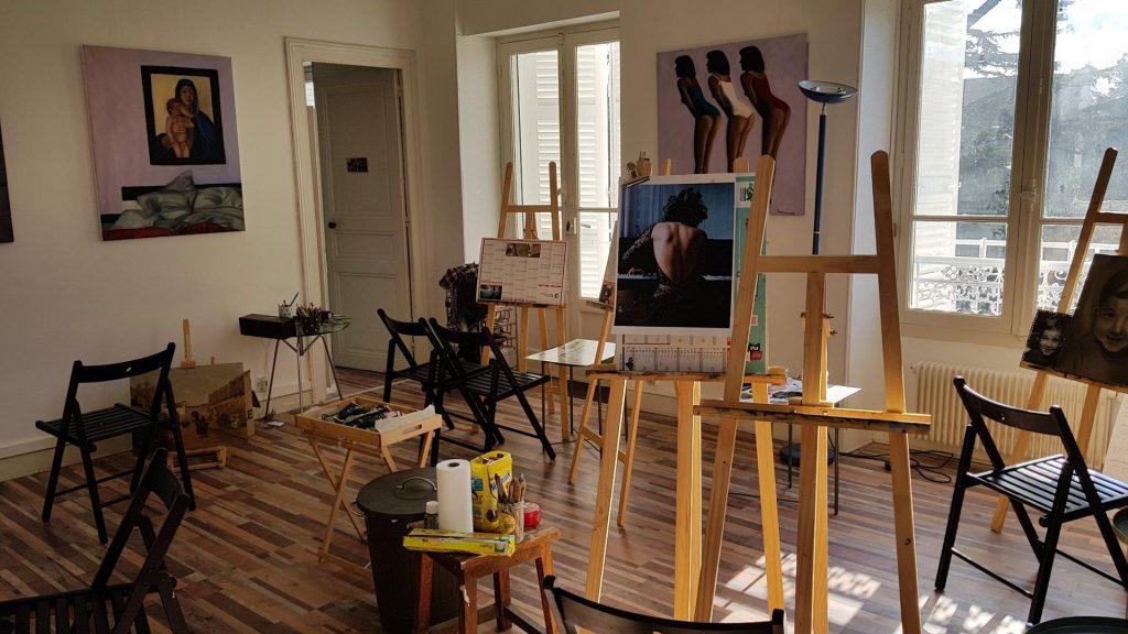 Hpoto des locaux de l'Atelier Slow ART