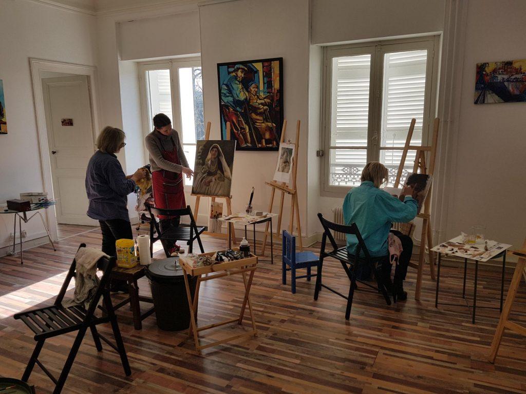 Les locaux de l'Atelier SLow ART